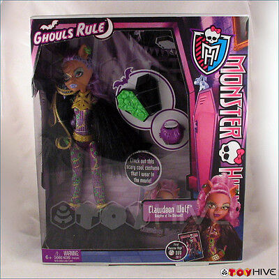Monster High Ghouls Rule Doll Clawdeen The Werewolf's Daughter Halloween new](Monster High Ghouls Rule Halloween Dolls)