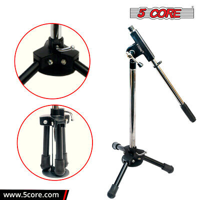 5 Core Microphone Stand TRIPOD Folding Small for kids & PRO Instrumental purpose Musical Instruments & Gear