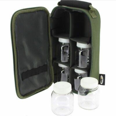 Glug Pot Bag Boilie Pop up Bait Holdall Carp Fishing Tackle Accessory Case NGT