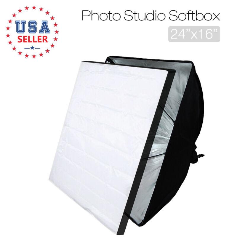 "1PACK SoftBox Soft Box Lighting Reflector Photography Photo Studio 16"" x 24"""