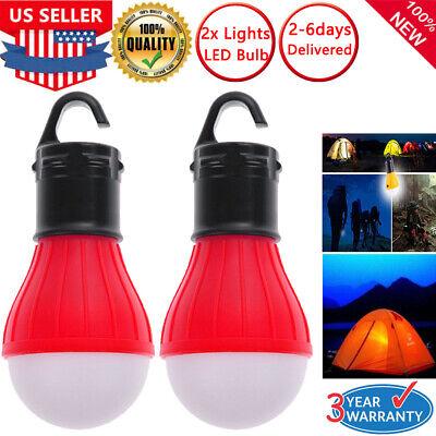 Camping Hanging Tent LED Bulb Hike Light Fishing Lantern Outdoor Emergency Lamp