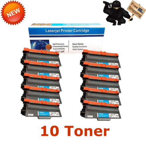 10pk Compatible For Brother Mfc-8810dw Hl-5470dw Printer ...