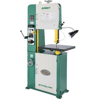 Grizzly G0807 18 2 Hp Variable-speed Vertical Metal-cutting Bandsaw