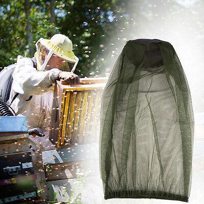 Beekeeper Polyester Net Veil Bee Cap Pullover Smock Protective Hat Equipment