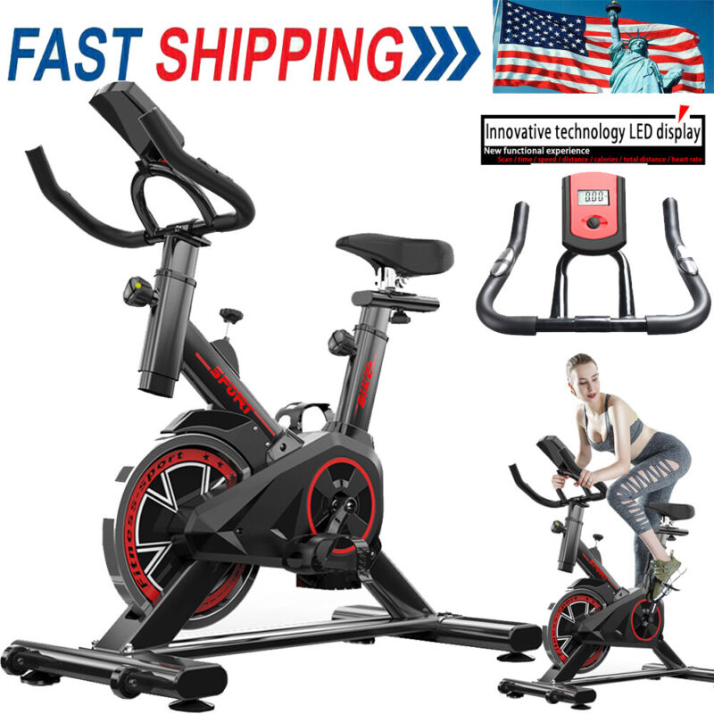 Indoor Cycling Bike - Stationary Exercise Bikes with Comfort