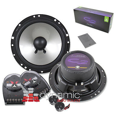 """JL AUDIO C2-650 Component Car Stereo Speakers 6.5"""" 2-Way 200 Watts C2650 New"""
