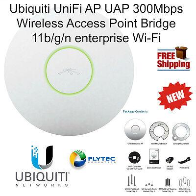 Ubiquiti UniFi AP UAP 300Mbps Wireless Access Point 11b/g/n enterprise Wi-Fi