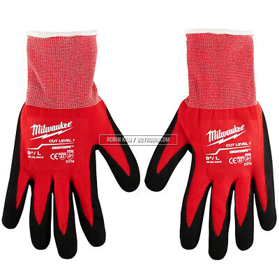 Milwaukee* 48-22-8902 Cut Level 1 Dipped Gloves Large