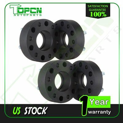 New 4pcs 2'' 6x5.5 to 6x5.5 HubCentric Wheel Spacers For 1995-2016 Chevy Tahoe