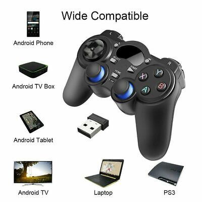 2.4G Wireless Gamepad Controller Joystick for Android TV Box Tablets PC