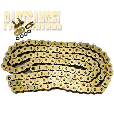 525 Gold O-ring Chain 116 Links for motorcycle