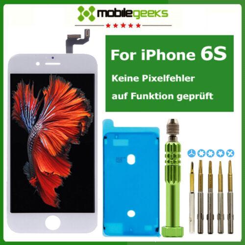 Display für iPhone 6S LCD Glas Scheibe Bildschirm Front ...