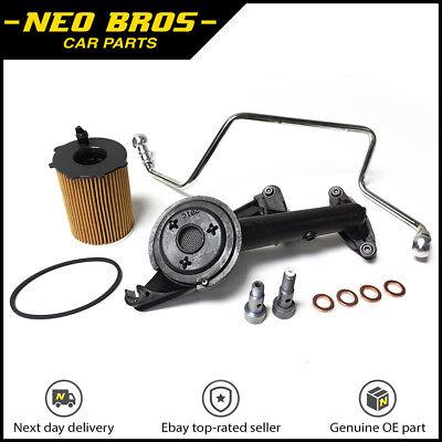Turbo Fitting Kit, Oil Feed Pipe, Strainer Banjo Bolt Peugeot Citroen 1.6 110BHP