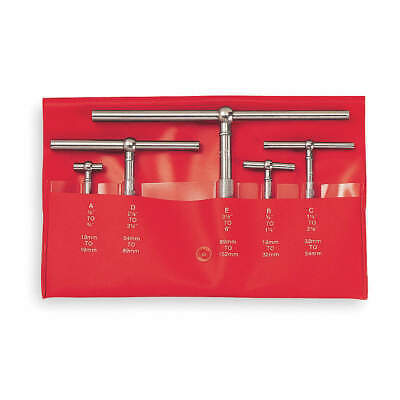 Starrett S229gz Telescoping Gage 5 Pc2.625 In