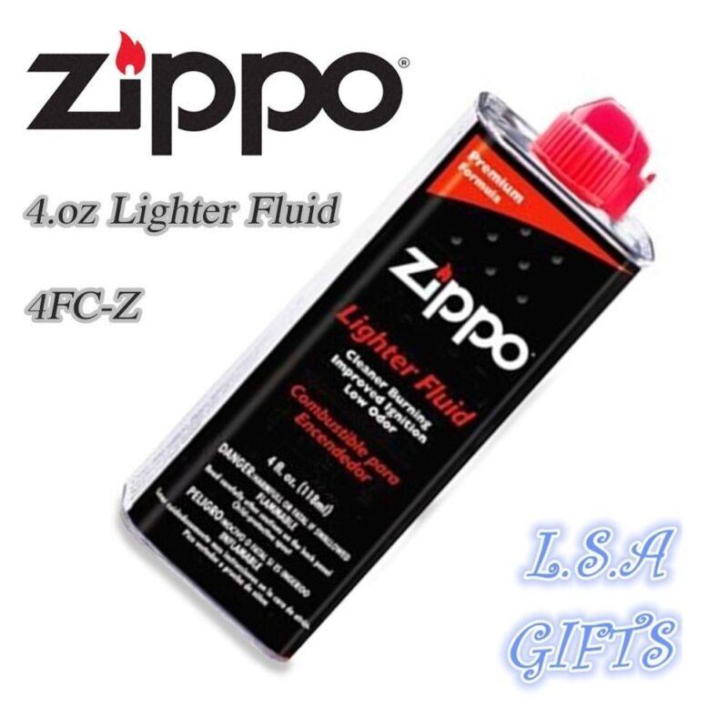 Zippo 4.oz Fuel Fluid For All Zippo Lighter
