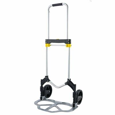 Folding Hand Truck And Dolly 330lbs Capacity Heavy-duty Luggage Trolley Cart Us