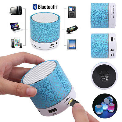 Mini Bluetooth Lautsprecher LED MP3 FM Radio Musik Box Speaker Handy Tablet  Handy Mp3 Lautsprecher