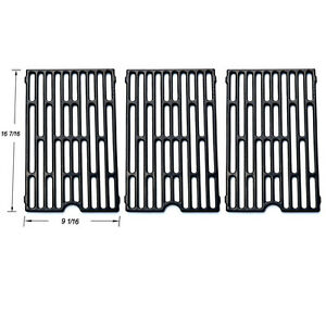 Universal Gas Grill Grate Porcelain Coated Cast Iron Cooking Grid SGX271-3pack