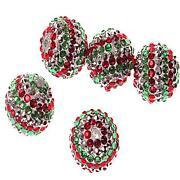 Resin Rhinestone Beads
