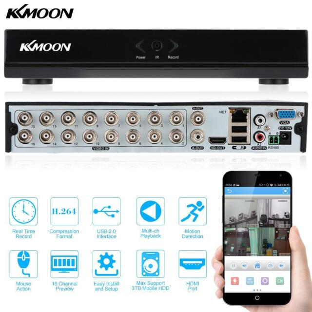 16CH Channel FULL 960H D1 H.264 Surveillance HDMI DVR Network for CCTV Camera UK