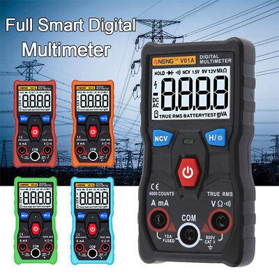Aneng Digital Multimeter True-rms Voltmeter Ammeter Resistance Meter Tester