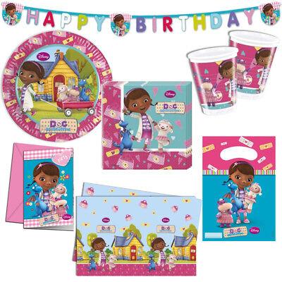 s Kindergeburtstag Auswahl Deko Party Dekoration Geburtstag (Doc Mcstuffins Geburtstag Dekoration)