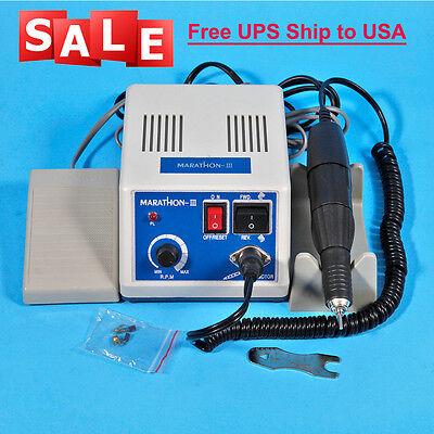 Dental Lab Marathon Micro Motor Drill Polisher N3 35k Rpm Handpiece Sale