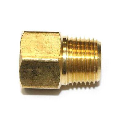 12 Npt Male X 12 Npt Female Brass Hex Adapter - Fb808