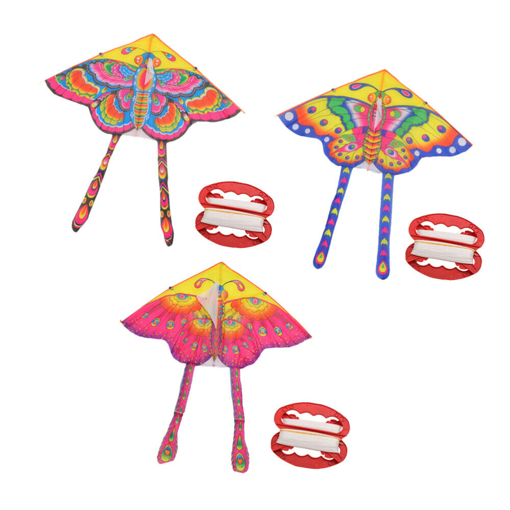 3 sets butterfly kite lovely interesting kids
