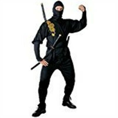 Mens Ninja Costume Small Uk 38/40