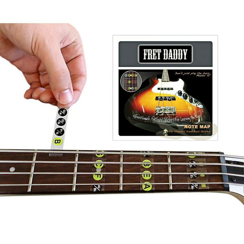 The Fretboard Note Map for Bass Guitar