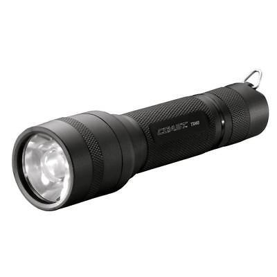 NEW Coast TX40 Bulls Eye Focus Spot Max Beam Optic Tactical LED Flashlight