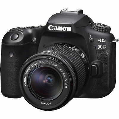 Canon EOS 90D DSLR Camera with 18-55mm f/3.5-5.6 IS STM Lens USA MODEL CANON