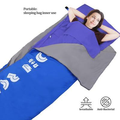 Forbidden Portable Single Liner Silk Inner Sleeping Bag Travel Host Sheet ()