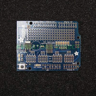 Adafruit 16-channel 12-bit Pwmservo Shield I2c Interface Arduino Bot Motor G27