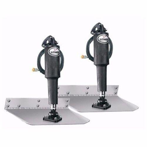 "Lenco Standard Mount Trim Tab Kit without Switch 12""x12"" 12 Volt 15007-101 MD"