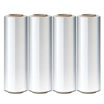 """5/"""" in x 1000FT 80 Gauge Extended Core Stretch Shrink Film Hand Wrap 6 Rolls Roll"""