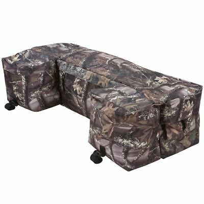Atv Rack Bag - Camo Off-Road Quad 4-Wheeler ATV Rear Rack Bag Storage Luggage & Gear Bag
