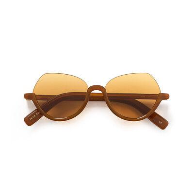 Sunglasses Kaleos Lund C. 003 Acetate Brown 54 100% Authentic New
