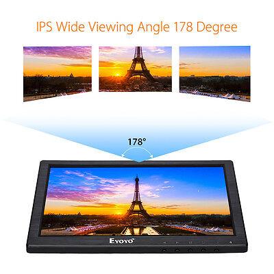 EYOYO 10 LCD IPS LED HD 1280 800 VGA VIDEO AUDIO HDMI MONITOR F R CCTV DVD