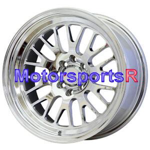 XXR 531 15x8 Platinum Rims Wheels Stance Deep Dish 4x100 94 01 Acura Integra GSR