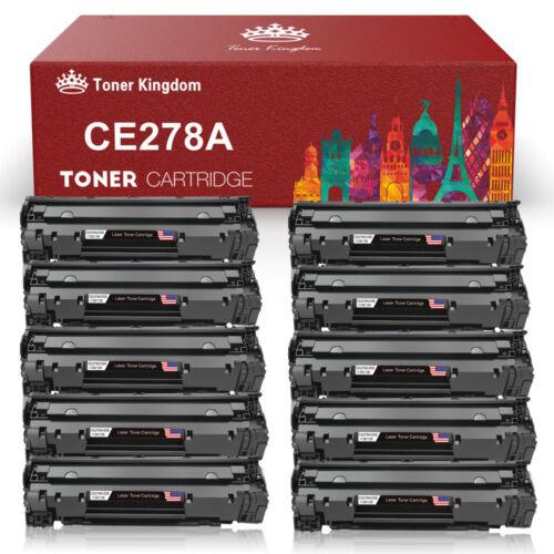 2 PK 78A CE278A Black Toner Cartridge for HP LaserJet Pro M1536dnf P1566 P1606dn