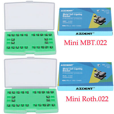 Dental Brackets Braces Self Ligating Rothmbt 022 Hook 3451st Molar Buccal Tube