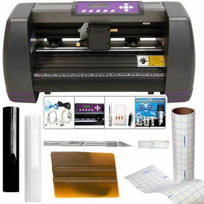 Uscutter 14 Craft Vinyl Cutter Mh Bundle - Sign Making Kit Wdesigncut Softwar