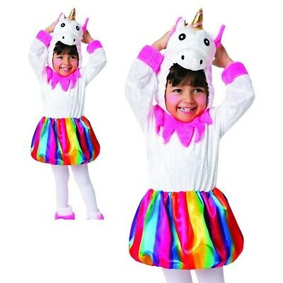 Mädchen Kleinkind Einhorn Kostüm Fairy Märchen Pony Regenbogen - Einhorn Kostüme Kleinkind