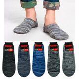 6 Pair Men Invisible Foot Cover Ankle Socks Boat Liner Footies Low Cut 10-13