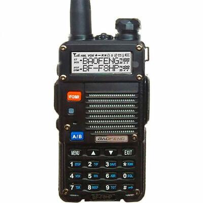 Usado, Baofeng BF-F8HP 8W#Two Way Radio Walkie Talkie Dual Band VHF UHF Portable Radio segunda mano  Embacar hacia Argentina