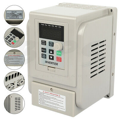 5hp 220v 4kw Variable Frequency Drive Inverter Single To 3 Phase Speed Control