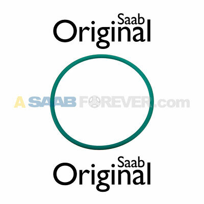 NEW SAAB Engine Oil Filter Housing O-Ring 9-3 (03-11) 9-5 (10-11) OEM - 12580255