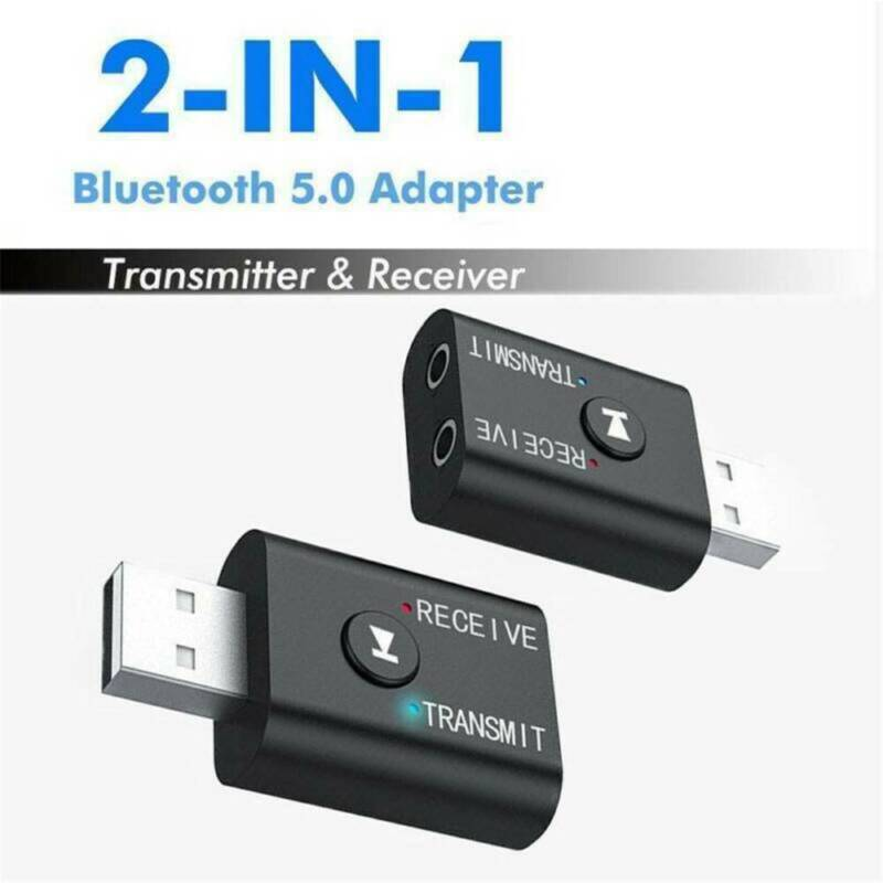 USB 5.0 Bluetooth Adapter Wireless Dongle High Speed For PC